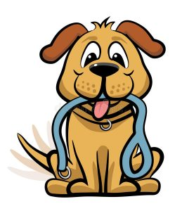 Cartoon image of dog